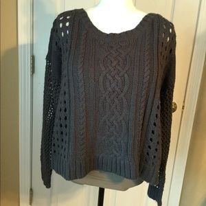 Dark Gray Sweater - Medium